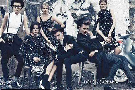 dolce and gabbano citizen chic dolce gabbana f w 2011 caign