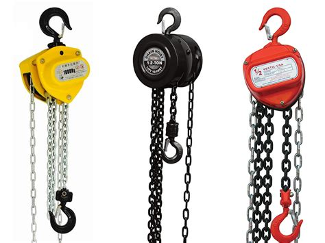How A Manual Chain Hoist Works?