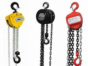 How A Manual Chain Hoist Works