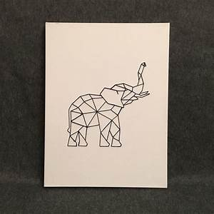 Best 25+ Geometric elephant ideas on Pinterest Geometric