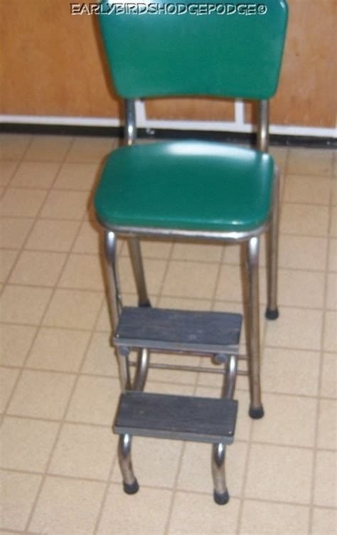 green kitchen stools vintage green kitchen step stool in 1437