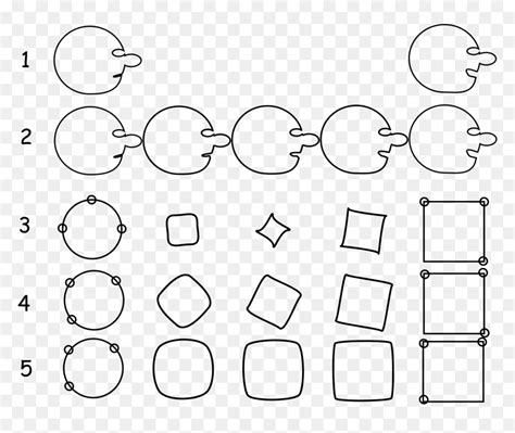 The example above manipulates a simple positioning attribute. Interpolated Face, Quadration Of The Circle - Svg Animated ...