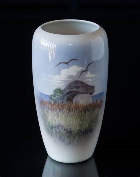 royal copenhagen vases vase with dolmen royal copenhagen no r2694 1049 dph