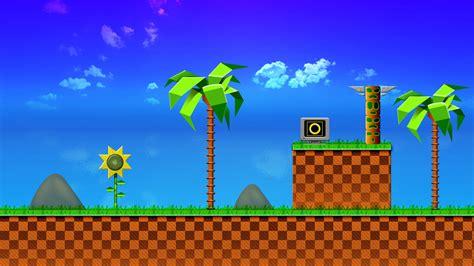 Sonic 1st Level. | The 1st Level of Sonic on Mega Drive ...