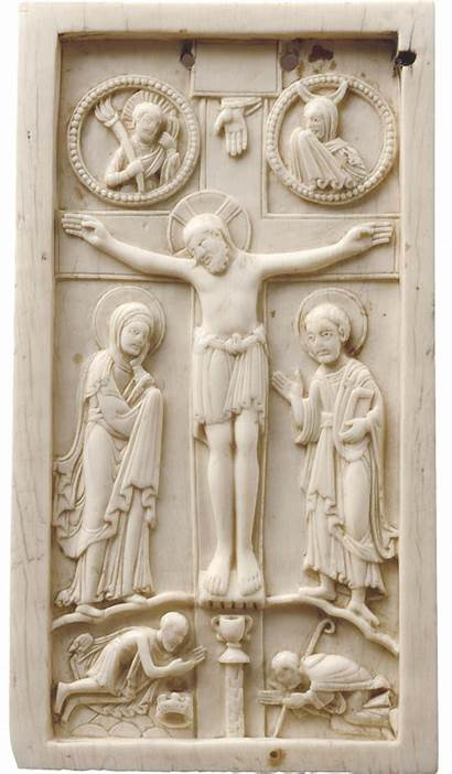 Ages Middle Crucifixion Liebieghaus St
