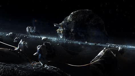 Star Trek Discovery Wallpaper Prosperous Universe Asteroid Day By Macrebisz On Deviantart
