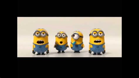 funny minions singing  minions language translated  english youtube