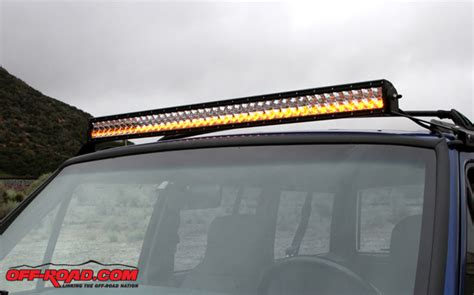 installing a rigid industries e series led light bar