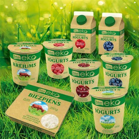 Kādi ekoloģiskie piena produkti nopērkami veikalos?