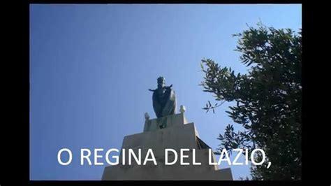 Testo Inno Lazio by Lazio Inno Monte Leano Terracina