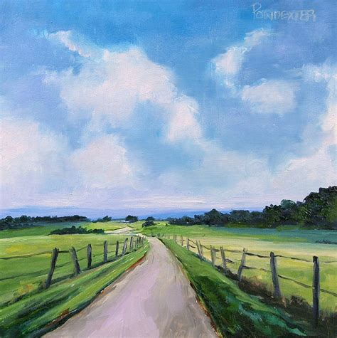 country landscapes pictures paintings in oil country landscape study