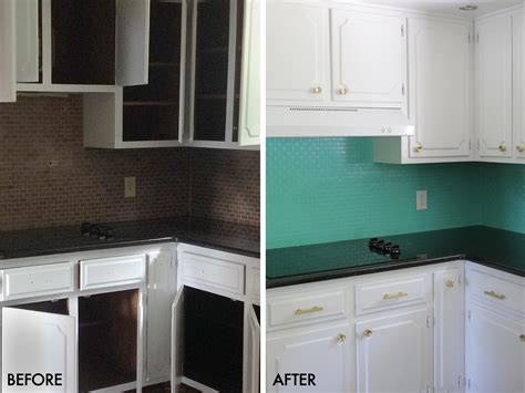 painted tiles for kitchen how to paint a tile backsplash a beautiful mess 4001