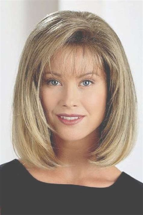 Medium Bob Hairstyles With Bangs And Layers Hairstyles
