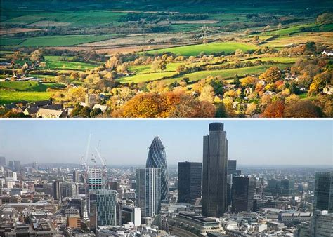 Moving In The Uk Country Living V City Living Home