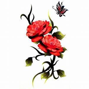 Tatouage De Rose : magnifique tatouage de rose temporaire ~ Melissatoandfro.com Idées de Décoration
