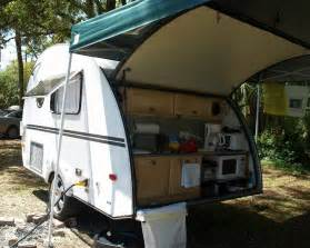 RV Trailers with Outdoor Kitchens