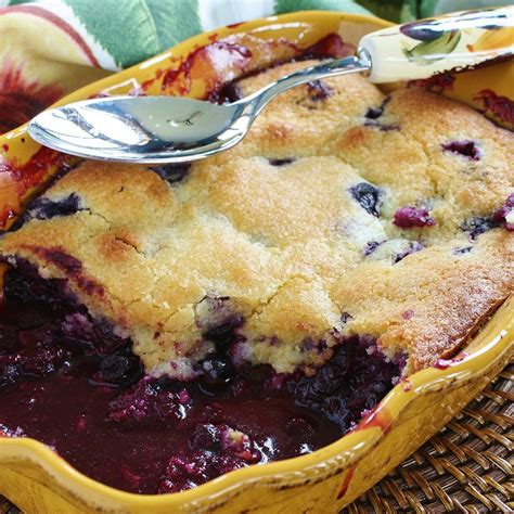 and easy blueberry recipes blueberry cobbler recipe all recipes uk