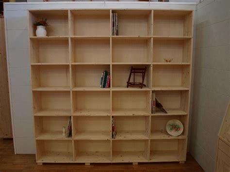 libreria legno grezzo tavoli in legno massello grezzo librerie in legno