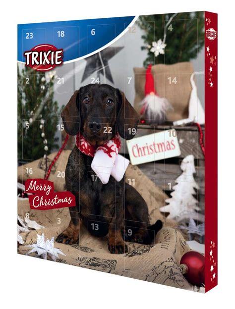 trixie adventskalender fuer hunde leckerlies drops