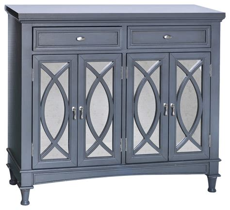 mirrored sideboard buffet crestview collection park avenue grey mirror sideboard 4164