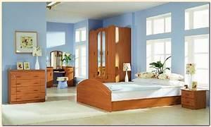 Deco Chambre Bois : d coration chambre meuble bois ~ Melissatoandfro.com Idées de Décoration