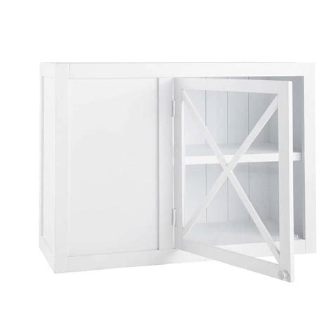 meuble d angle haut cuisine meuble haut d 39 angle vitré de cuisine ouverture gauche en