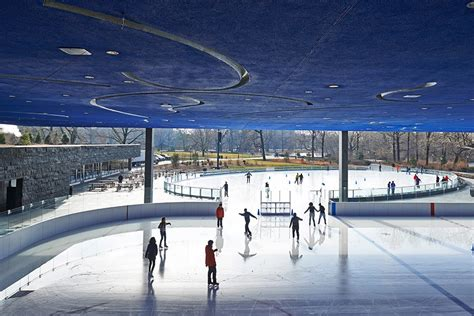 the most architecturally beautiful skating rinks photos architectural digest