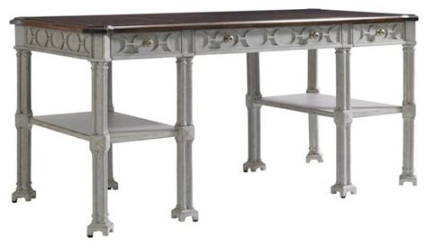 stanley furniture desk and hutch charleston regency russell writing desk traditional