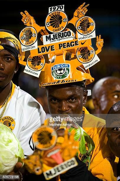 All material © kaizer chiefs 2021: Makarapa Stock Photos and Pictures | Getty Images