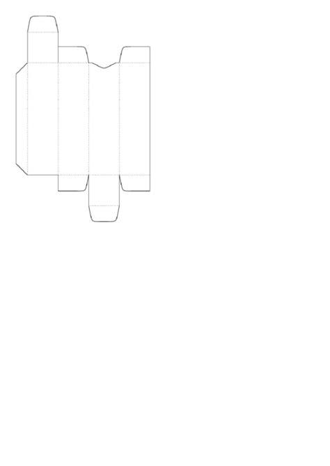 business card box template pdf lip balm box template printable pdf