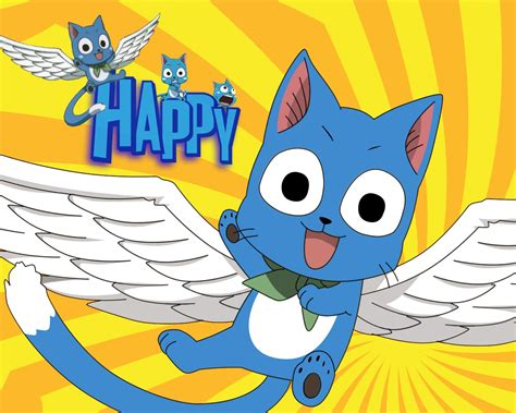 fairy tail happy wallpaper hd anime hd wallpaper