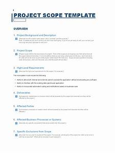 project scope template business process application With warehouse management system project documentation