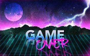 80s Retro Game Over Wallpaper by Leepiin on DeviantArt