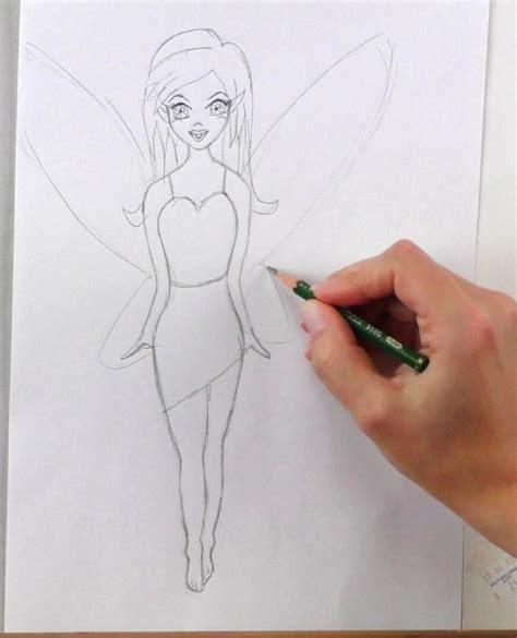 fee zeichnen lernen mit bleistift schritt fuer schritt