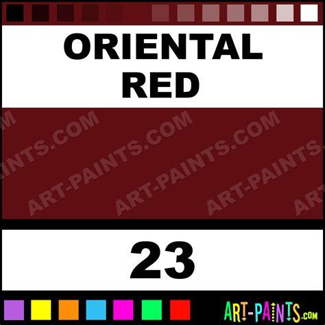 oriental red setacolor transparent fabric textile paints