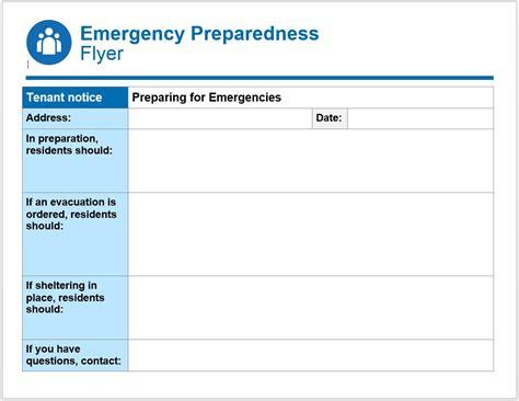 ready  respond toolkit emergency preparedness flyer
