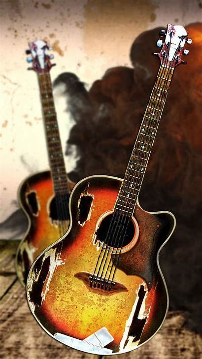 Rock Hardcore Instruments Wallpapers Mobile Phone