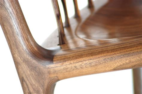Maloof Rocking Chair Joints by Custom Rocking Chair Zebrawood And Walnut By Canadian
