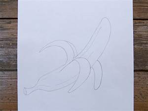 How to Draw a Peeled Banana: 7 Steps (with Pictures) - wikiHow
