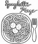 Coloring Spaghetti Espaguetis Meatballs Colorear Dibujos Sheet Drawing Coloringpagesfortoddlers Dozens Children Platos Resultado Imagen sketch template