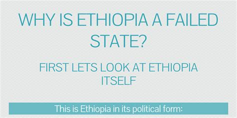 Why is Ethiopia a Failed State? by matt_depew - Infogram