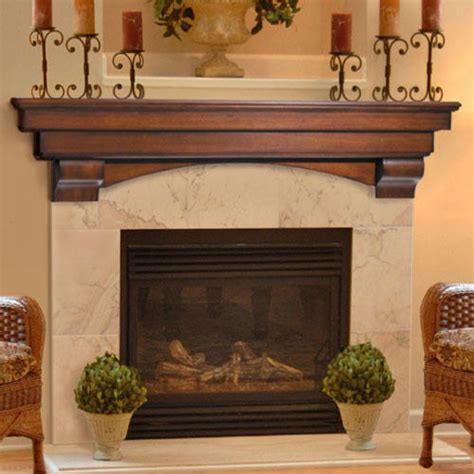 image of candle wall auburn fireplace mantel shelf home accents