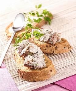 Filet De Sardine : toasts de rillettes de filets de sardines en conserve ~ Nature-et-papiers.com Idées de Décoration