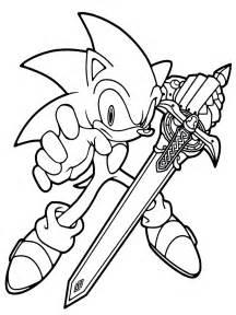 Dibujos De Sonic Para Imprimir
