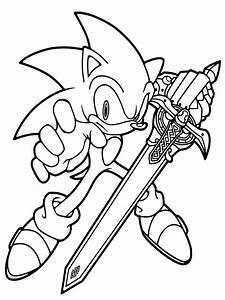 Gratuitos dibujos para colorear Sonic, descargar e imprimir