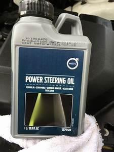 Volvo Xc90 Questions - Power Steering Fluid