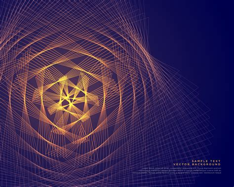 abstract glowing lines vector background