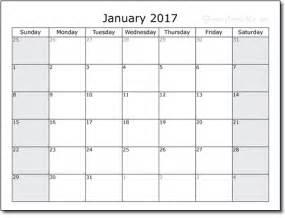2017 Free Printable Weekly Planner