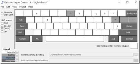 Qwerty Keyboard Layout For French (windows