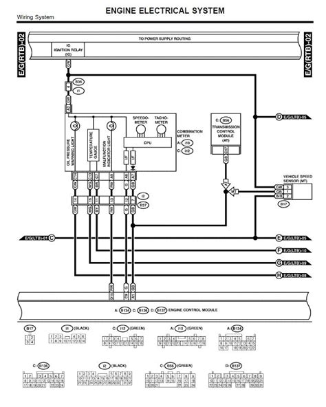 2004 Subaru Radio Wire Diagram by 2003 Subaru Forester Wiring Diagram Fuse Box And Wiring